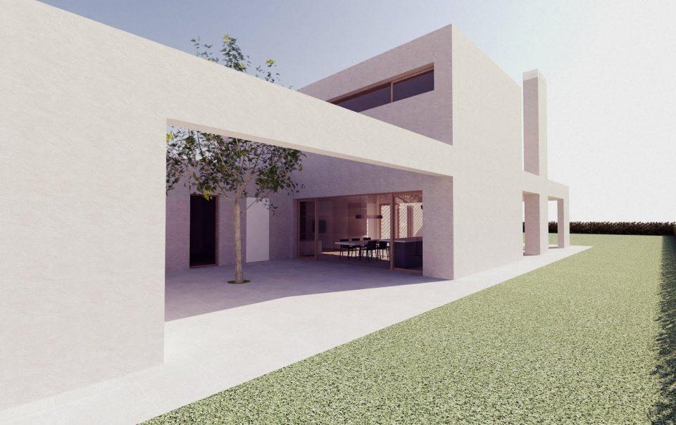 Villa in legno moderna Verona